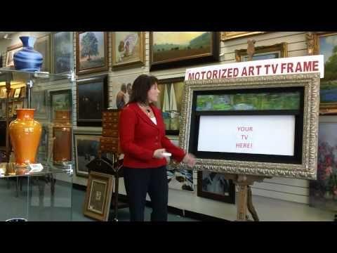 Motorized Art Motorized Tv Frame Flat Screen Tv Art Frame