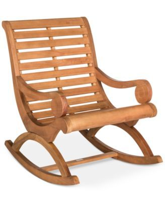 Pleasing Eleanora Outdoor Rocking Chair Quick Ship Macys Com Short Links Chair Design For Home Short Linksinfo