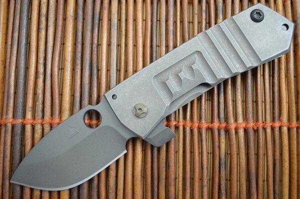 """Crusader Forge VIS T """"SOCOM"""" Tactical Frame-Lock Flipper Folding Knife"""