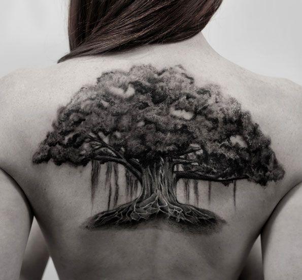 55 magnificent tree tattoo designs and ideas tattoos. Black Bedroom Furniture Sets. Home Design Ideas