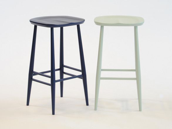 Ercol Bar Stool (maybe you could get plain wooden stools and spray them?) & Ercol Originals Bar Stool | Them Products and Bar stools islam-shia.org