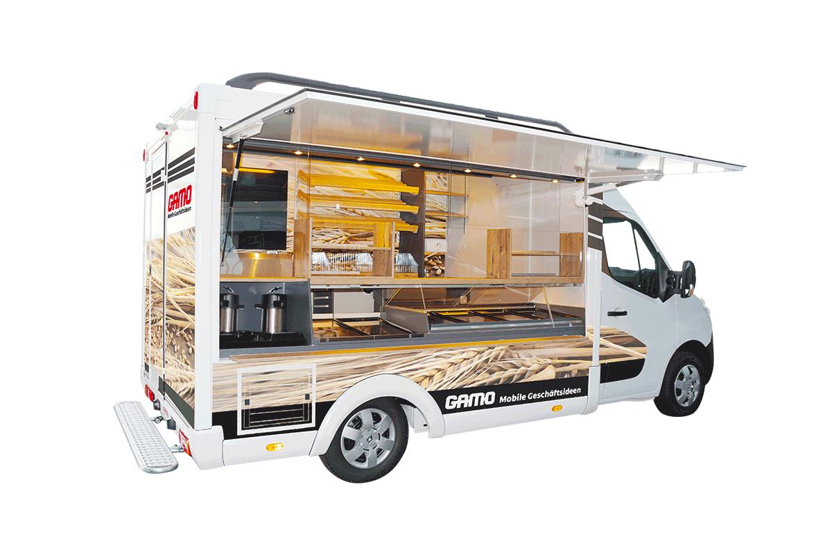 Bäckereiverkaufswagen