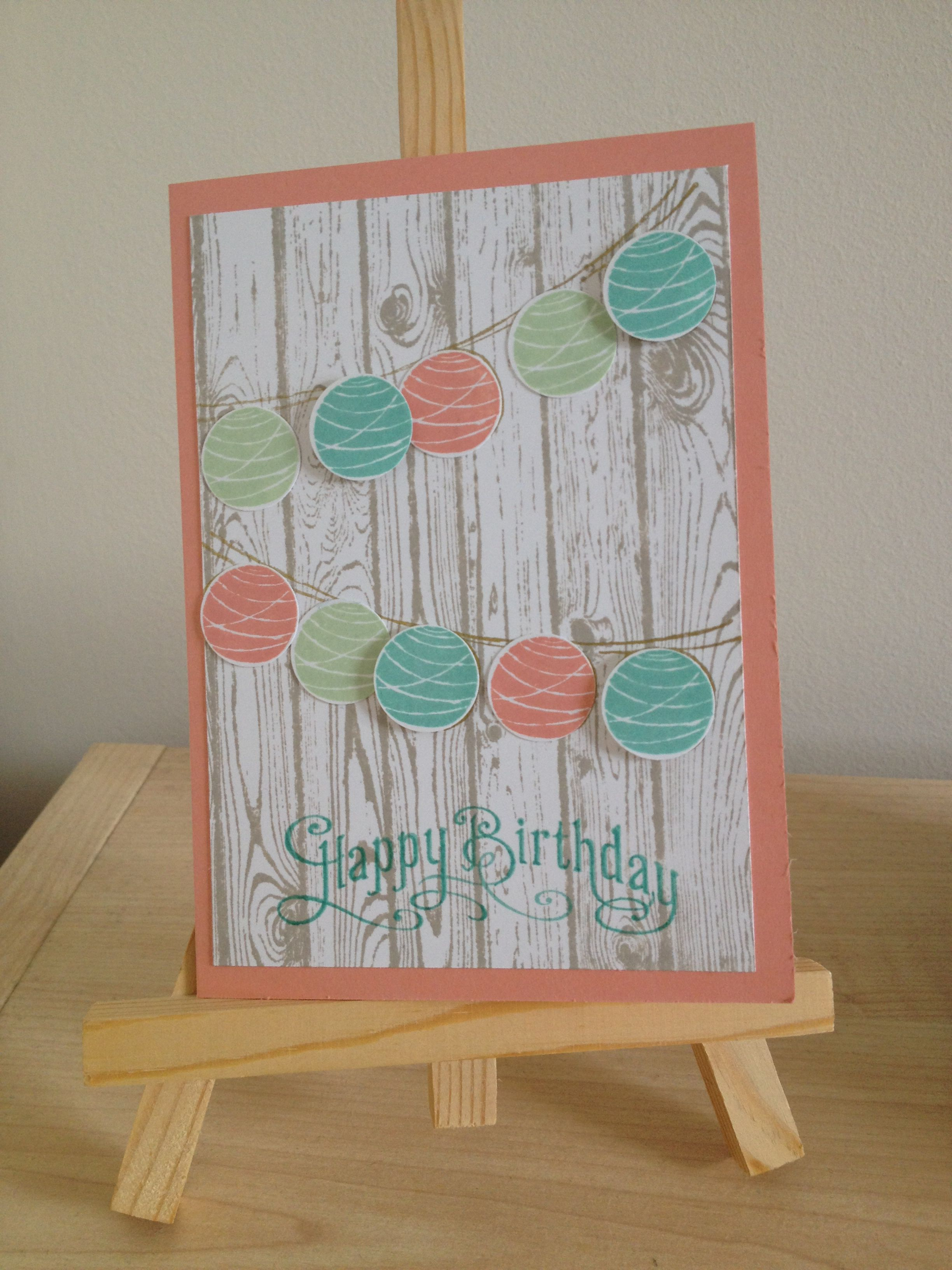 Stampin up birthday card cards iuve made pinterest cards