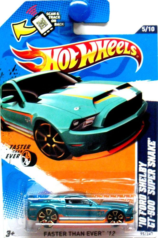 2010 Ford Shelby Gt 500 Super Snake Hot Wheels 2012 Faster Than Ever 5 10 Green Hot Wheels Hot Wheels Cars Toys Hot Wheels Mustang