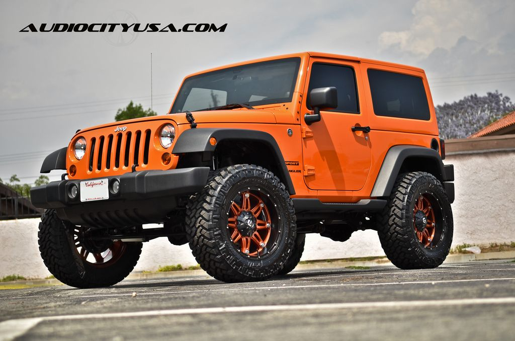photo 3 Jeep Wrangler custom wheels 20x90 ET  tire size 30560