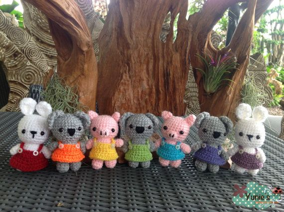 Free Amigurumi Koala Pattern : Best amigurumi bears images crochet dolls