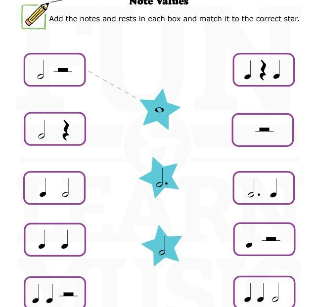 Free Downloads RHYTHM: BAR LINES - METER - NOTE VALUES