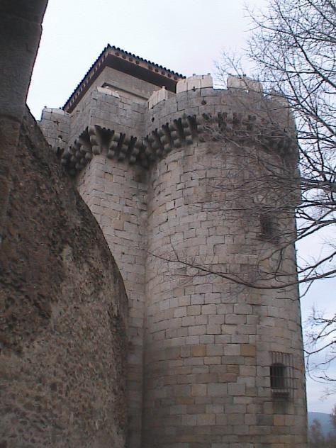 Torre del homenaje, Granadilla, Extremadura, españa