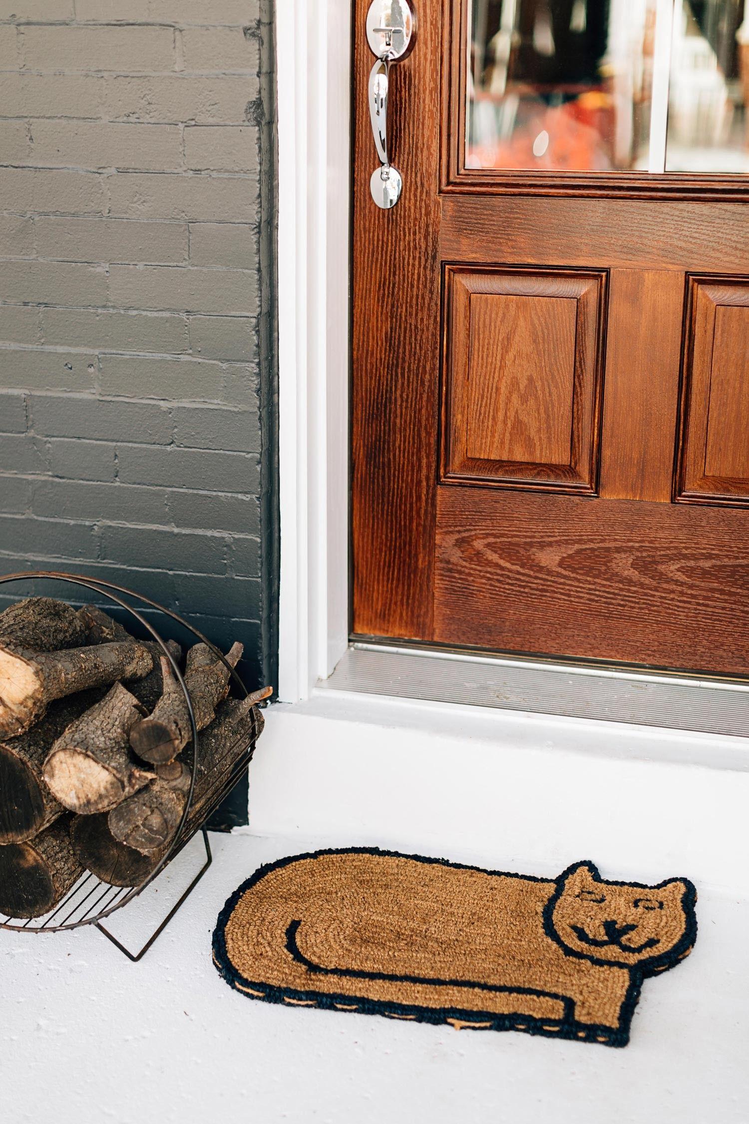 Kitty Clean Doormat in 2019 | FAIR TRADE | Home Decor