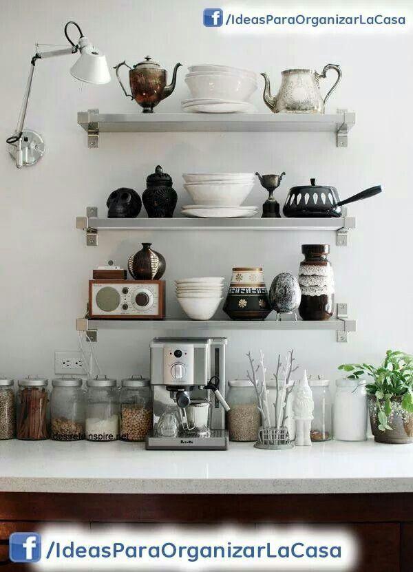 Repisas liindas #idea para cocina