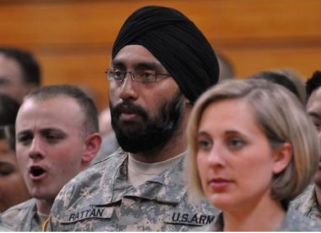 Were Screwed Military Dress Policy Allows For Turbans Beards Worn