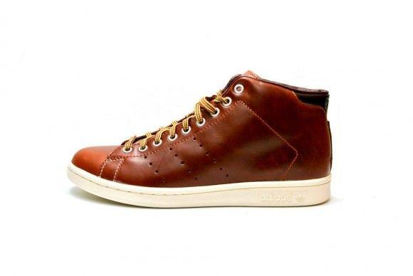 adidas stan smith fox red