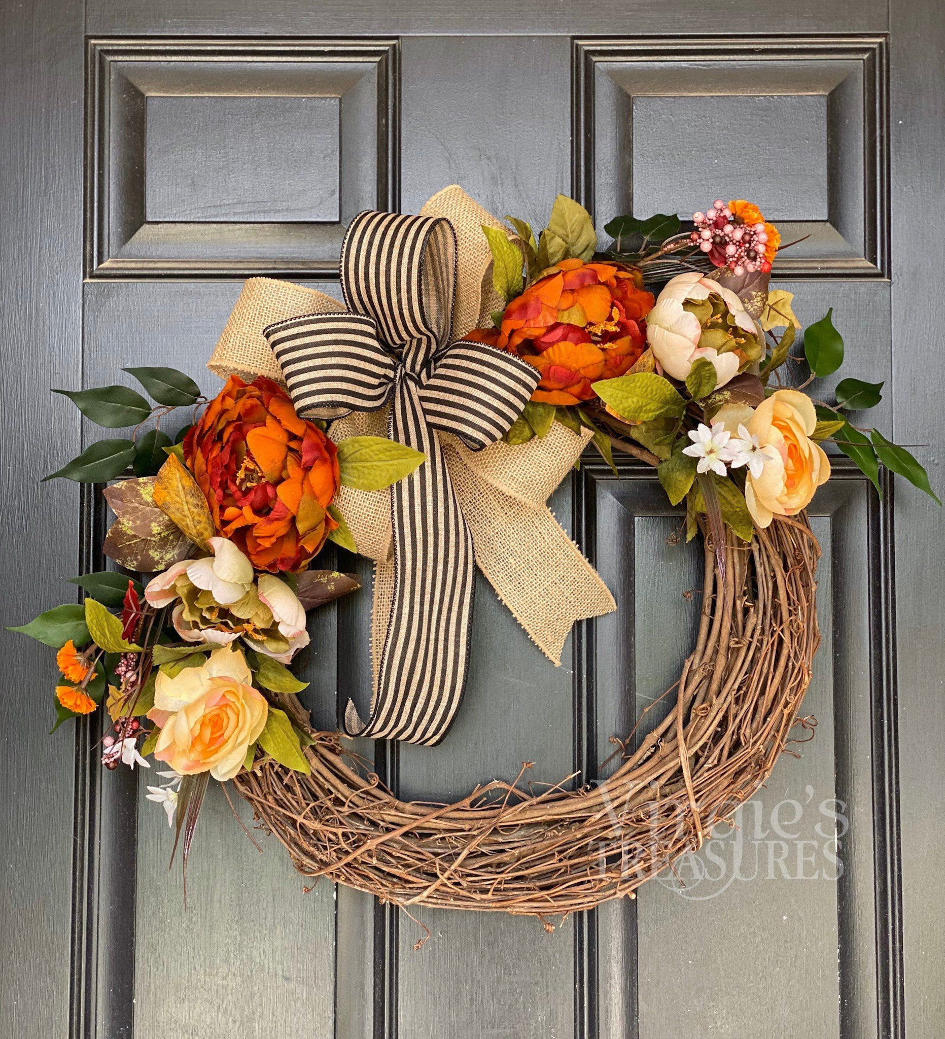 Excited to share this item from my etsy shop fall wreath