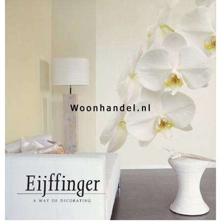 393011 White Paradise Eijffinger Fotobehang Orchidee - Woonhandel ...