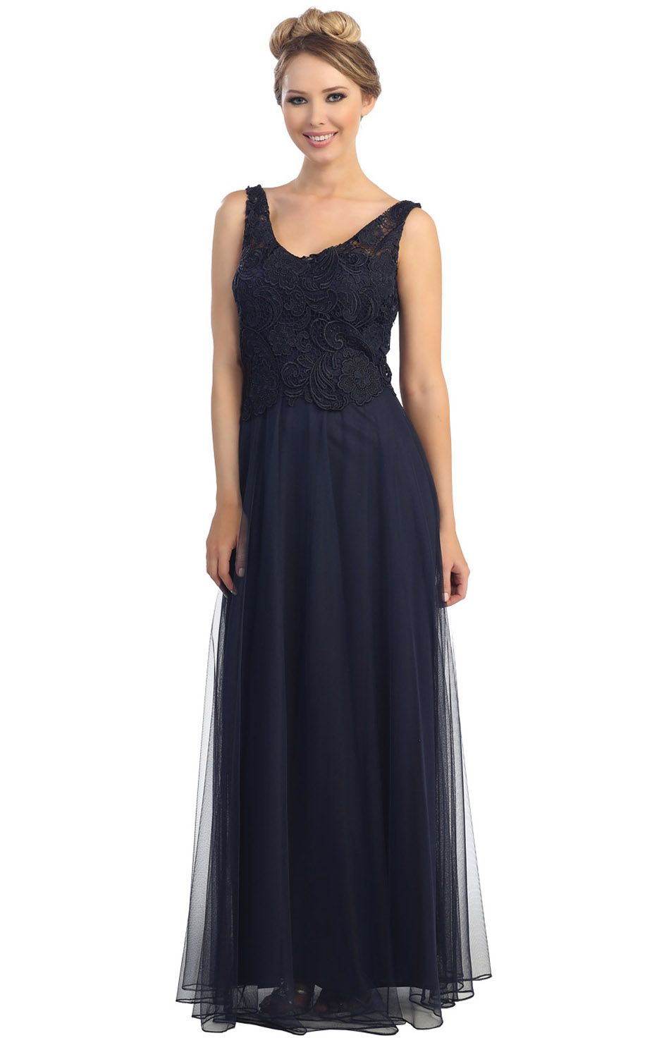 V-neck Chiffon A-line Zipper Empire Bridesmaid Dresses