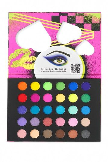 Bh Cosmetics Eyes On The 80s Eyeshadow Palette Multicolor