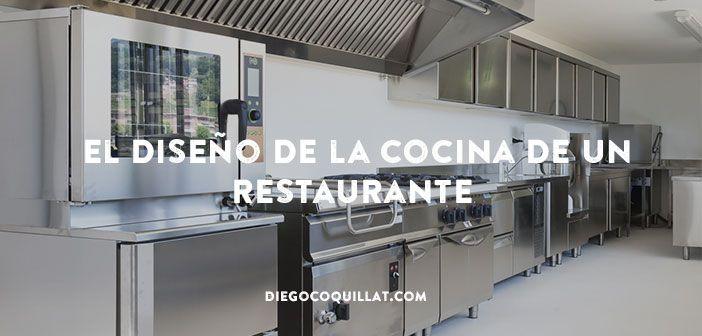 Enseñamos cómo diseñar una Cocina Profesional para que sea práctica - como disear una cocina