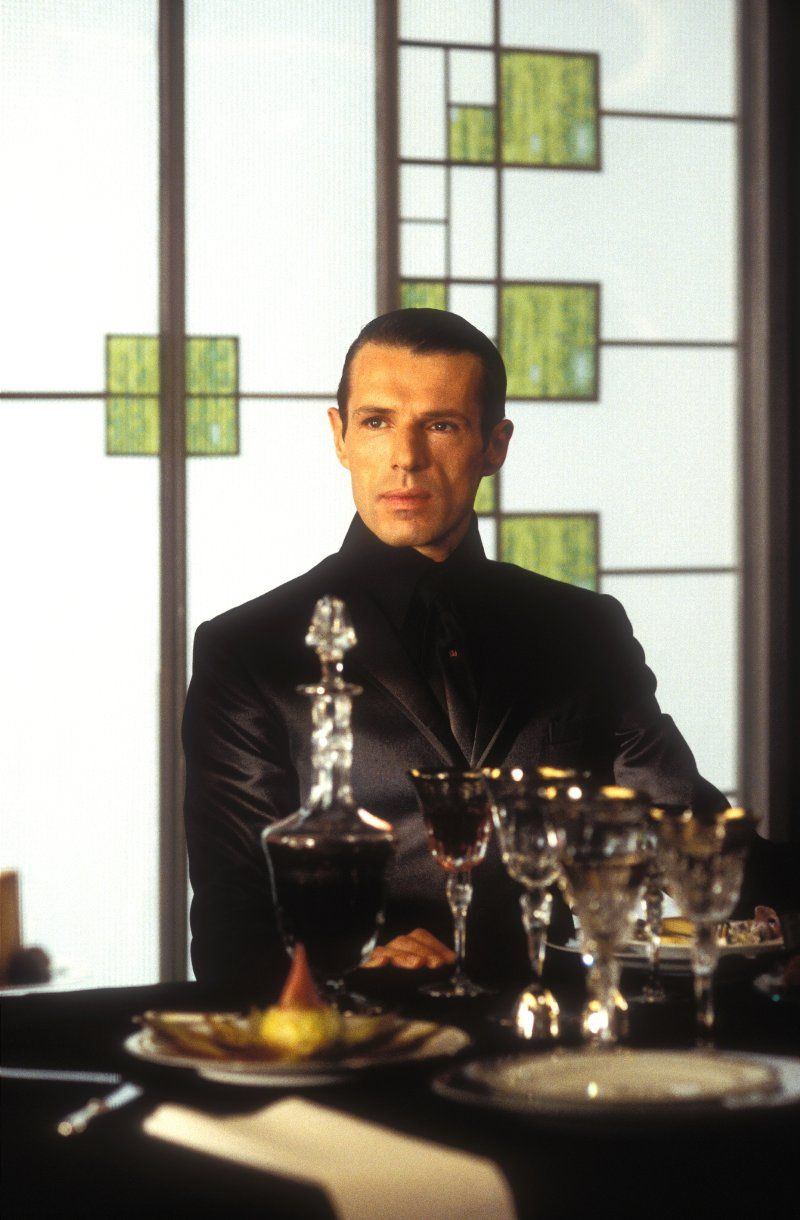 "Lambert Wilson in ""The Matrix Reloaded"", 2003"