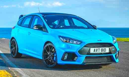 2018 Ford Focus Rs Limited Edition Price 2018 Ford Focus Rs Price
