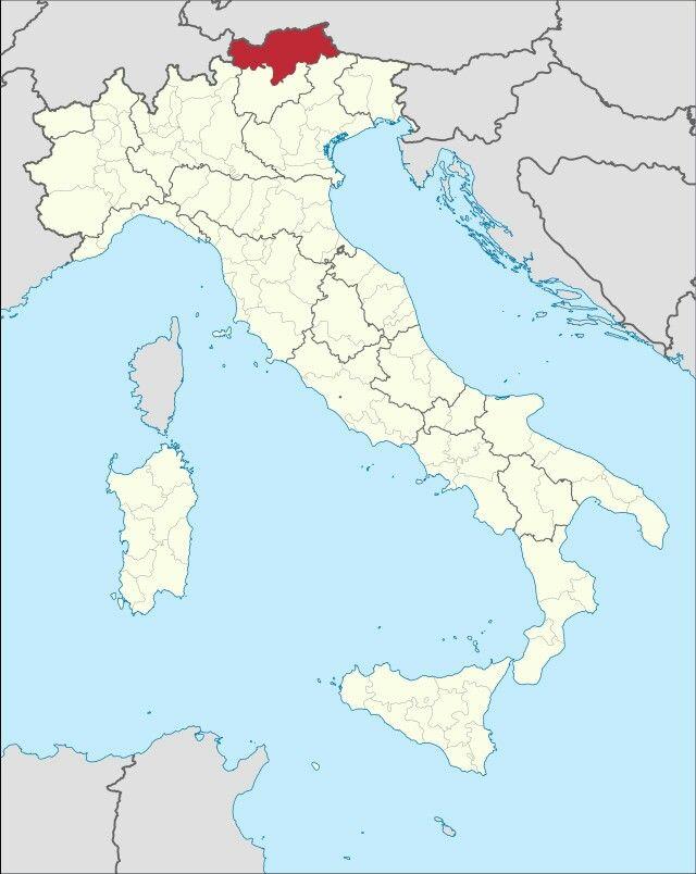 Autonome Provinz Bozen Sudtirol 1 It Carte Italie