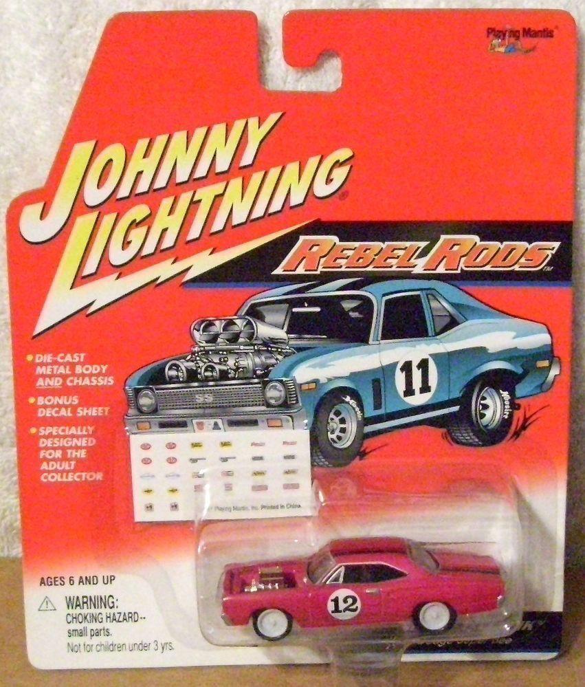 JL WL JOHNNY WHITE LIGHTNING REBEL RODS R2 1969 DODGE SUPER BEE
