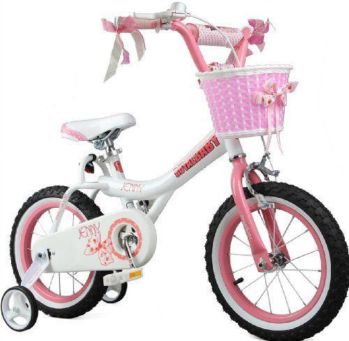 Girls 16 inch bike with basket-5872
