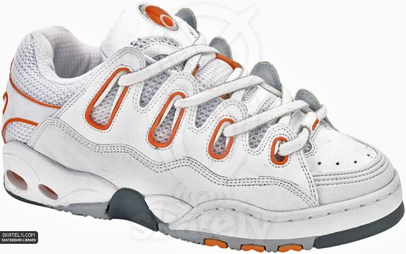 f5d9a4bbb0b Osiris Shoes - D3 - White Orange   Skately Library