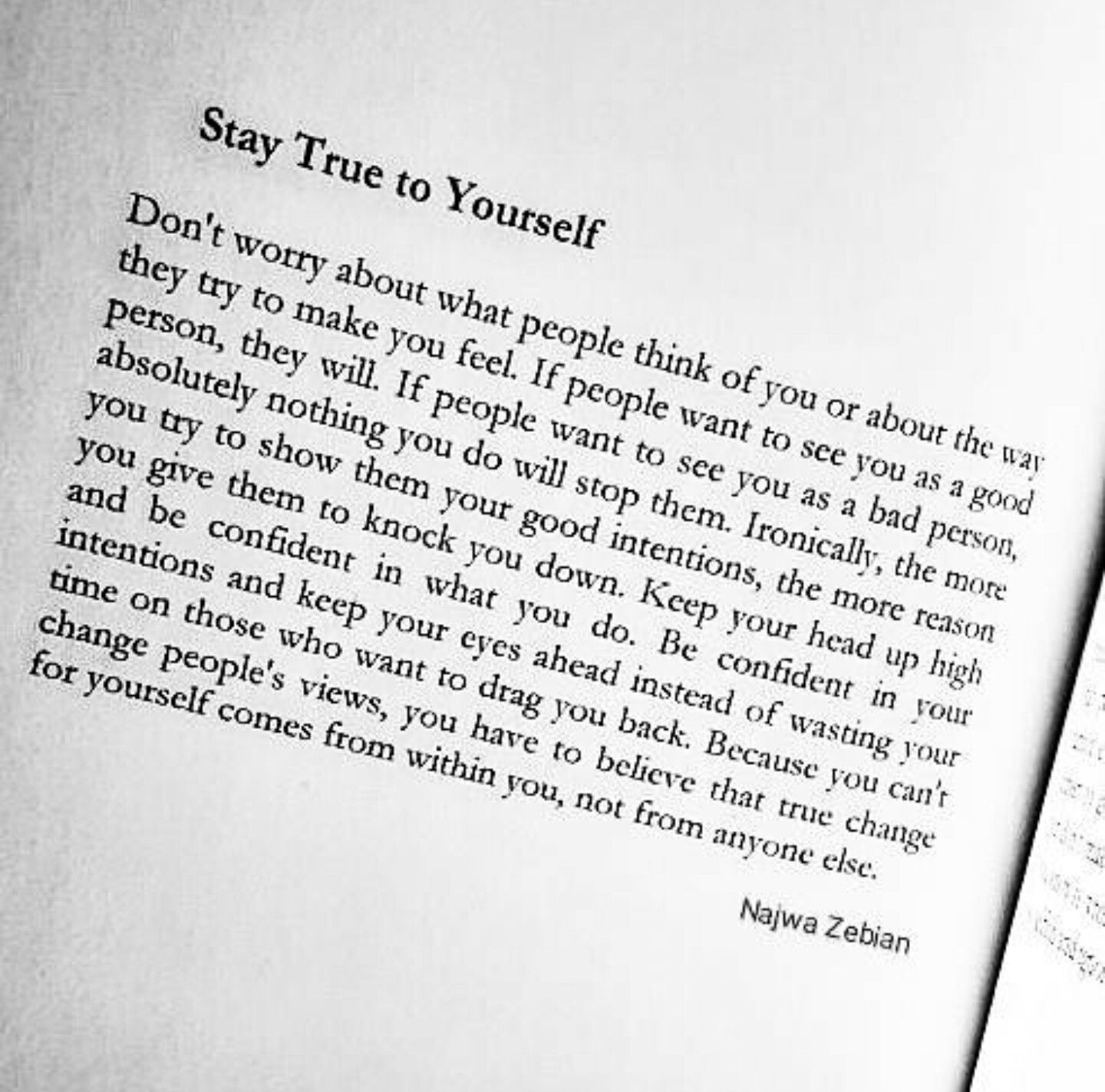 Stay true to yourself❤