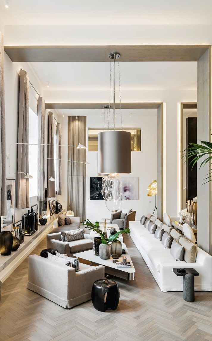 House Drawing Room Designs: Inside Interiors Queen Kelly Hoppen's Spectacular Home