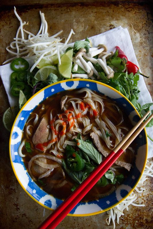 Fast and Easy Beef Pho - Heather Christo in 2020 | Beef ...