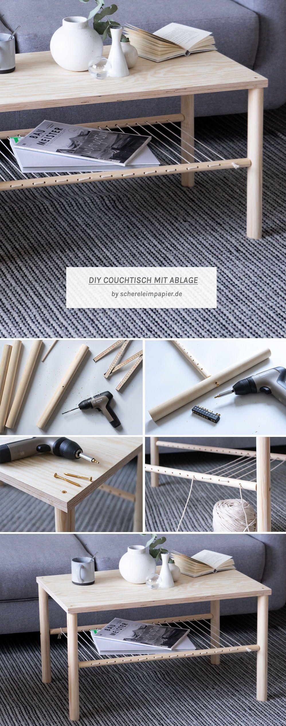 DIY Wohnzimmertisch selber bauen