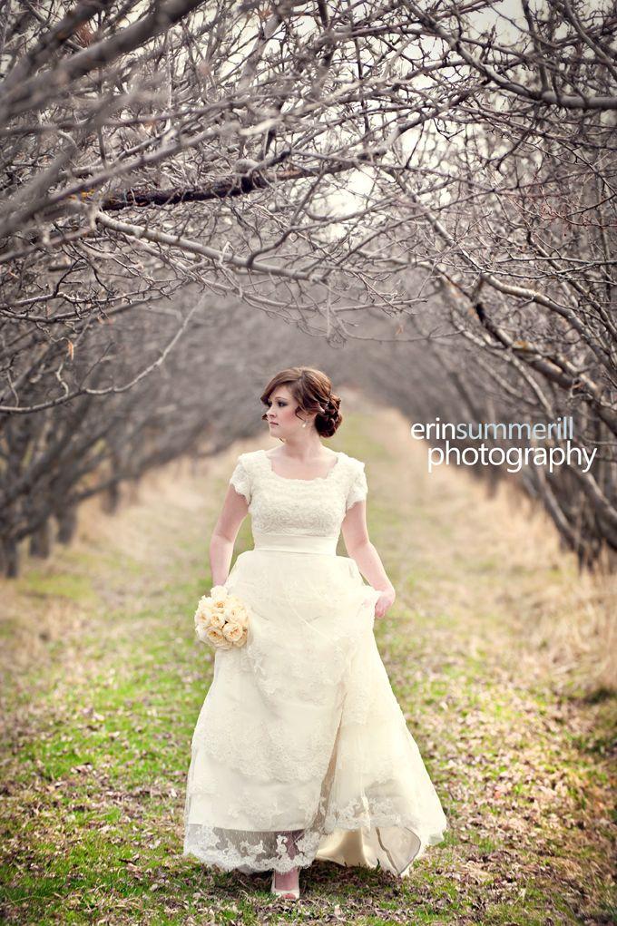 Gorgeous romantic lace gown.