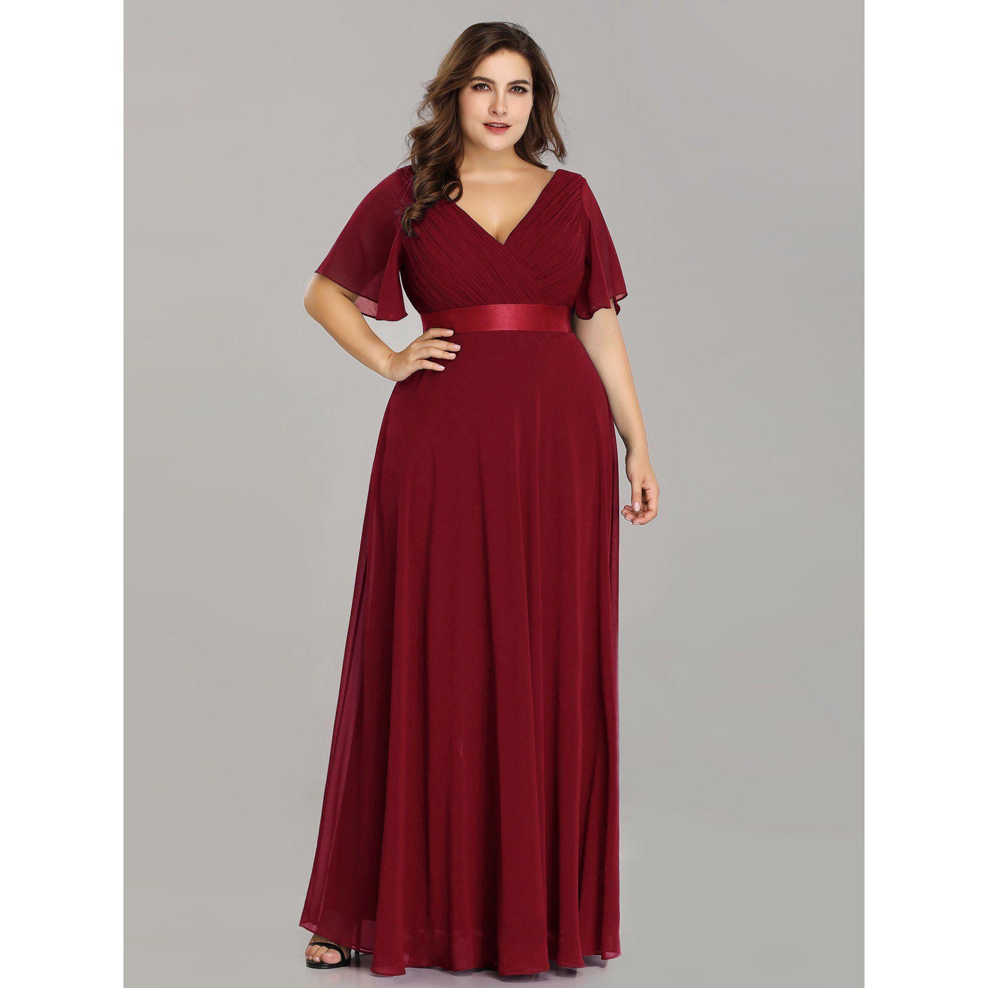 Ever Pretty Ever Pretty Womens Plus Size Bridesmaid Dresses For Women 98902 Burgundy Us22 Walmart Com Evening Dresses Plus Size Plus Size Long Dresses Empire Waist Evening Dress [ 2000 x 2000 Pixel ]
