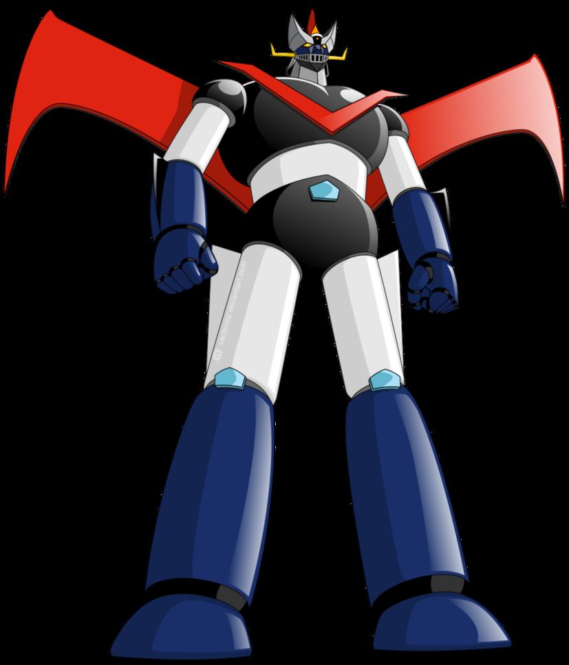 Anime Robot: Great Mazinger By Vectormz