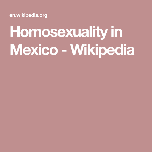 Homosexualism wikipedia
