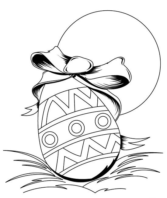 pre-k easter coloring pages | easter | Pinterest