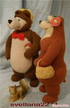 """Медведь из мультика """" Маша и Медведь"""" - Игрушки своими руками - Страна Мам"""