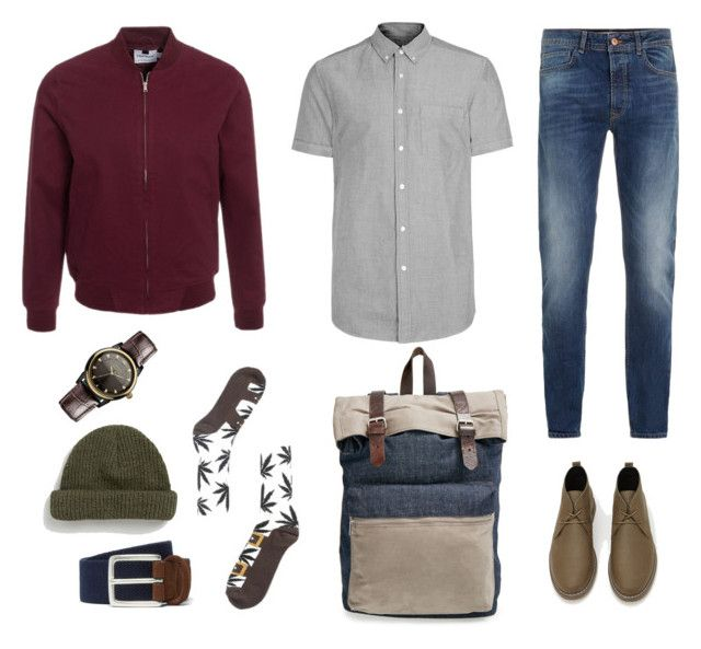 """Autumn style for him"" by caritoviena on Polyvore featuring Topman, HUF, Forever 21, Anderson's Belts, Vivienne Westwood, men's fashion and menswear"
