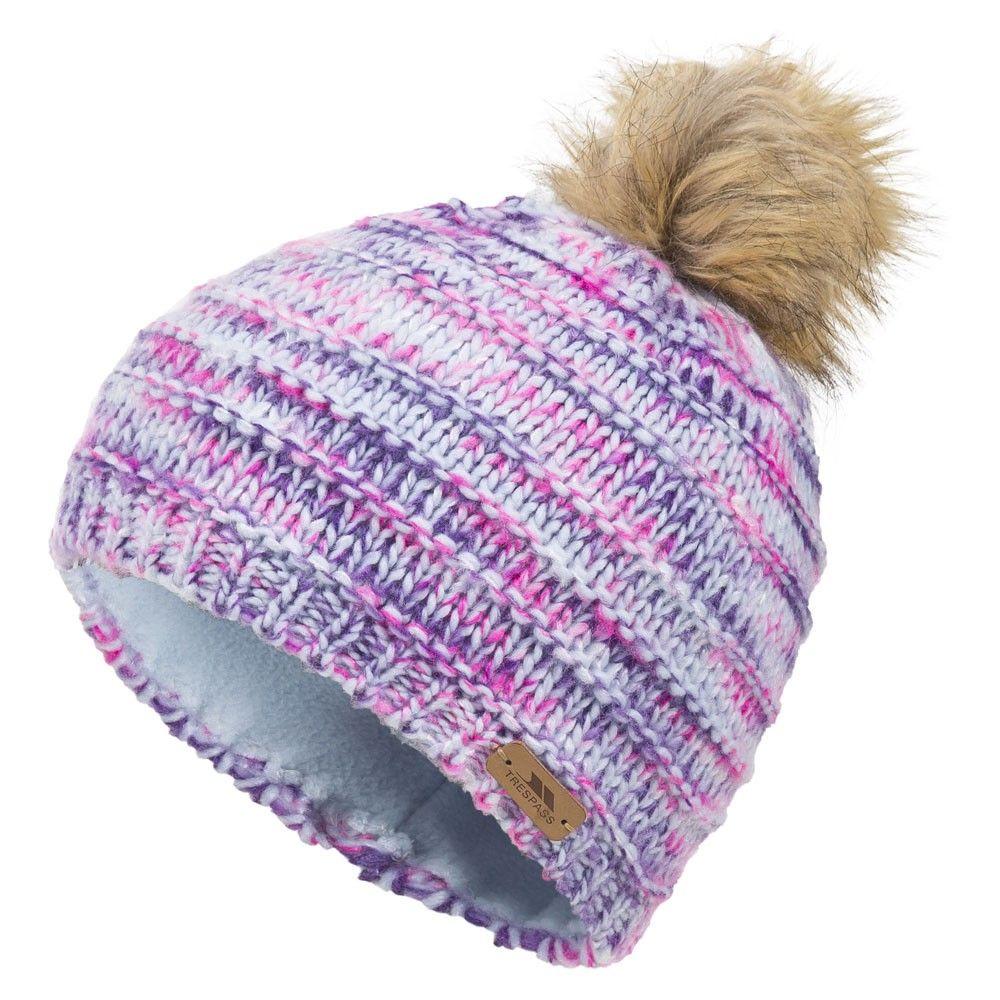 cbd99173 Trespass Tami Girls Ski Hat, powder blue   girls winter hats   Little Skiers