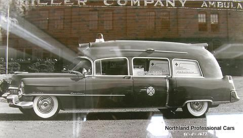 1954 Miller Cadillac First Aider Ambulance