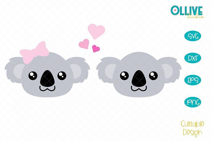 Download Koalas Love SVG in 2020 (With images) | Koala, Free design ...