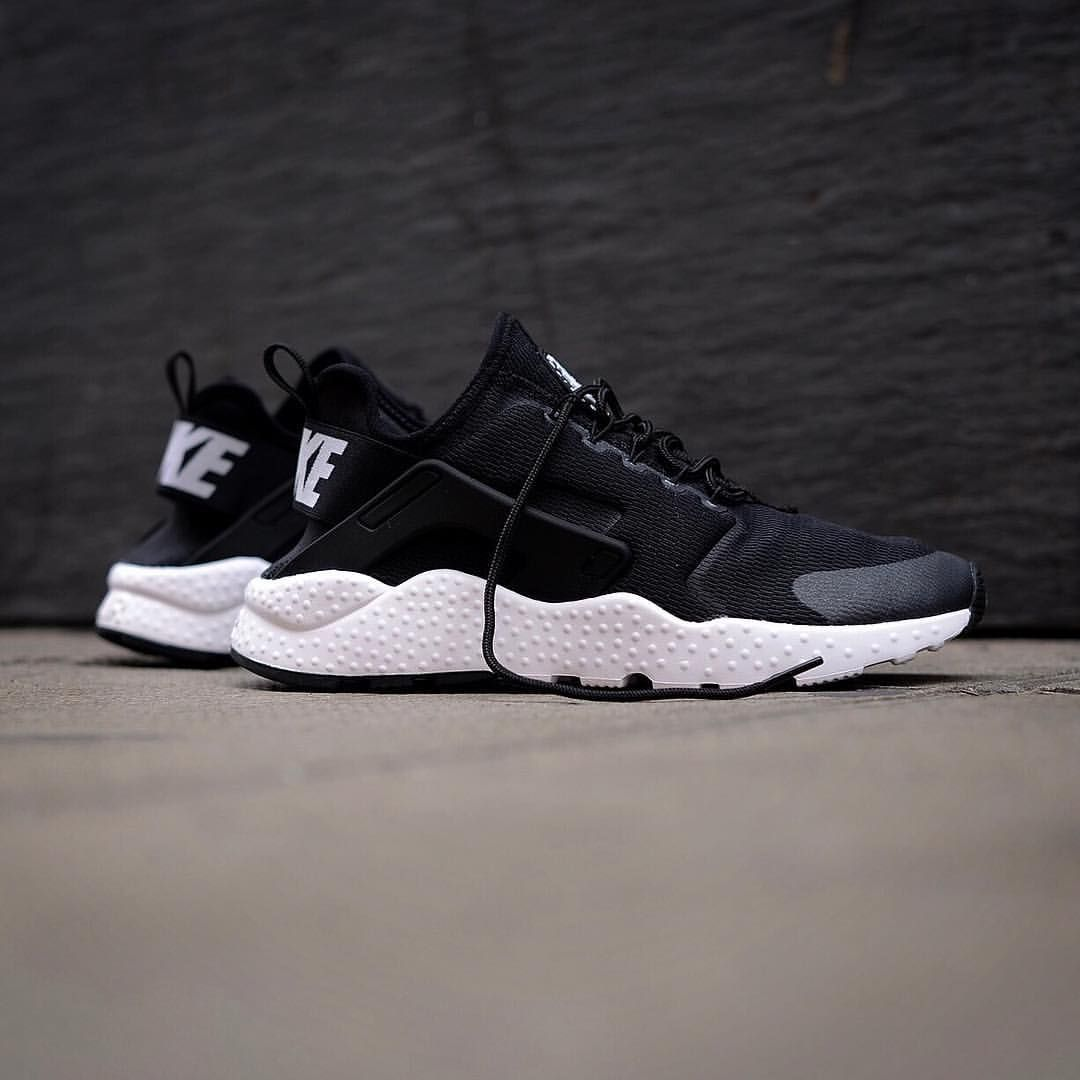 Fashion Nike wmns Air Huarache Run Ultra Black White