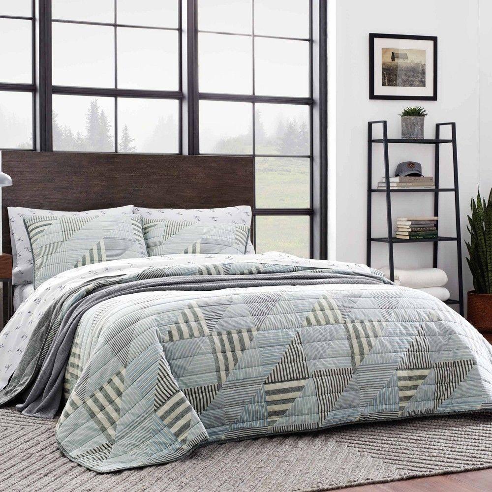 Eddie Bauer Fairview 5 Piece Quilt set Duvet Covers