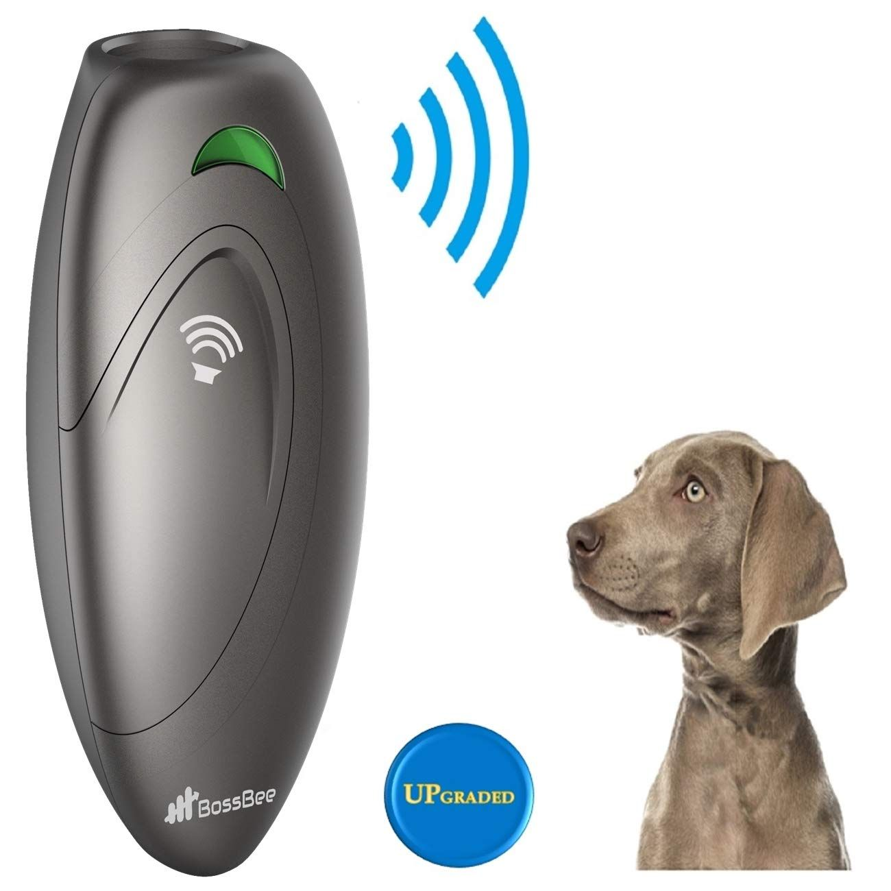 Bossbee Ultrasonic Barking Control Dog Bark Control Bark Trainer