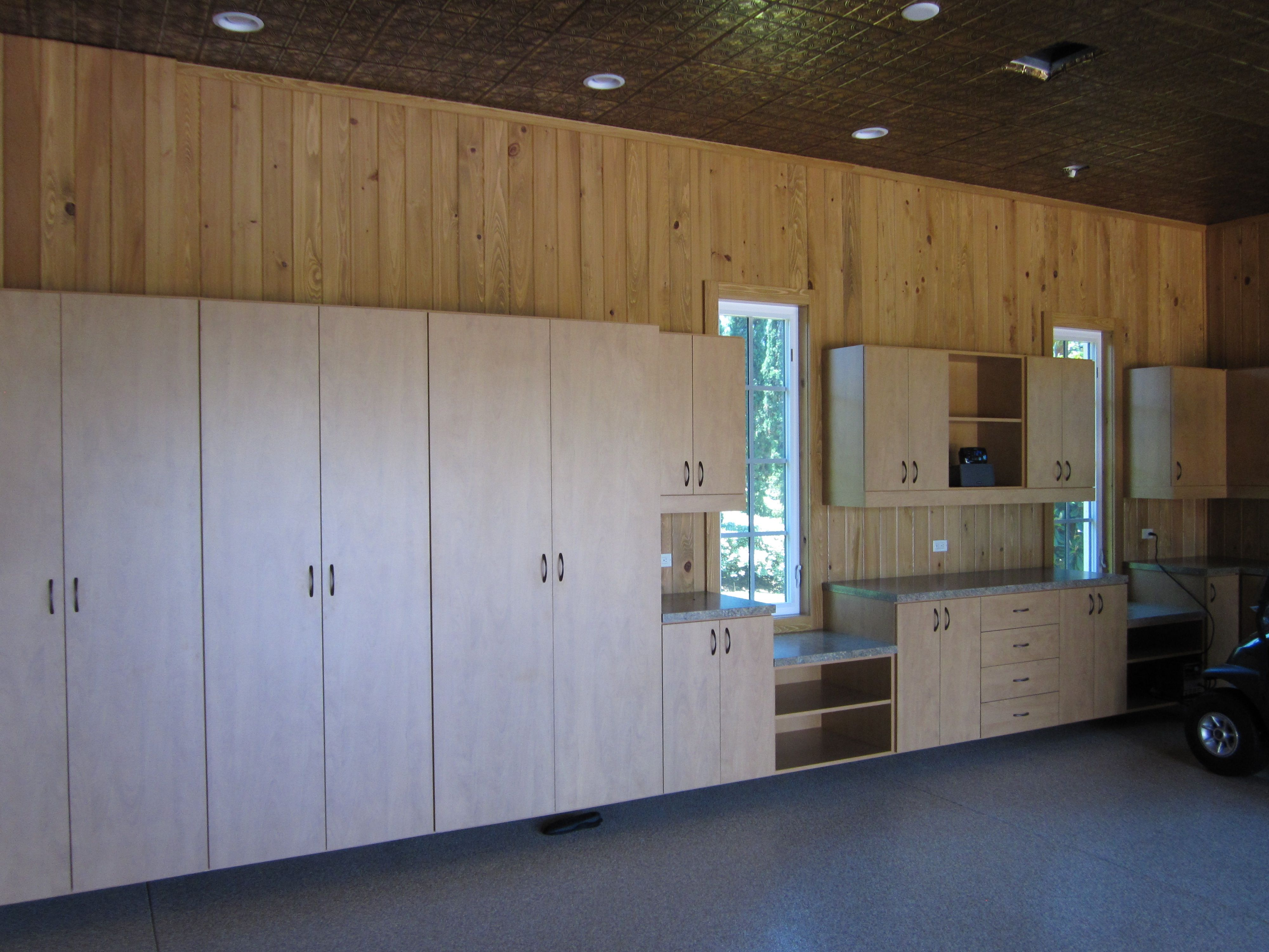 Custom Garage Furniture Man Cave Workshop Cabinet Cabinetry Murphy Bed  Storage Space Saver More Space Place