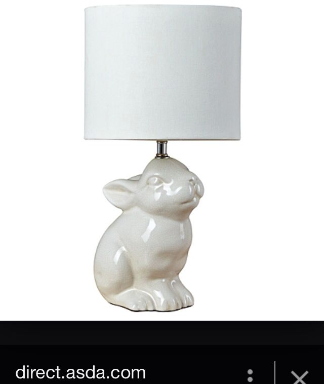 Lovely Rabbit Lamp From George At Asda