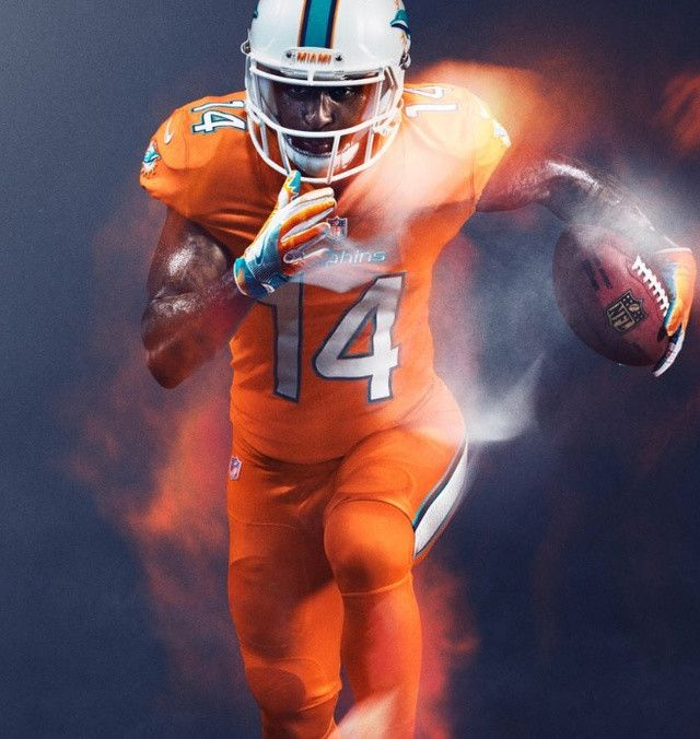 broncos color rush jersey