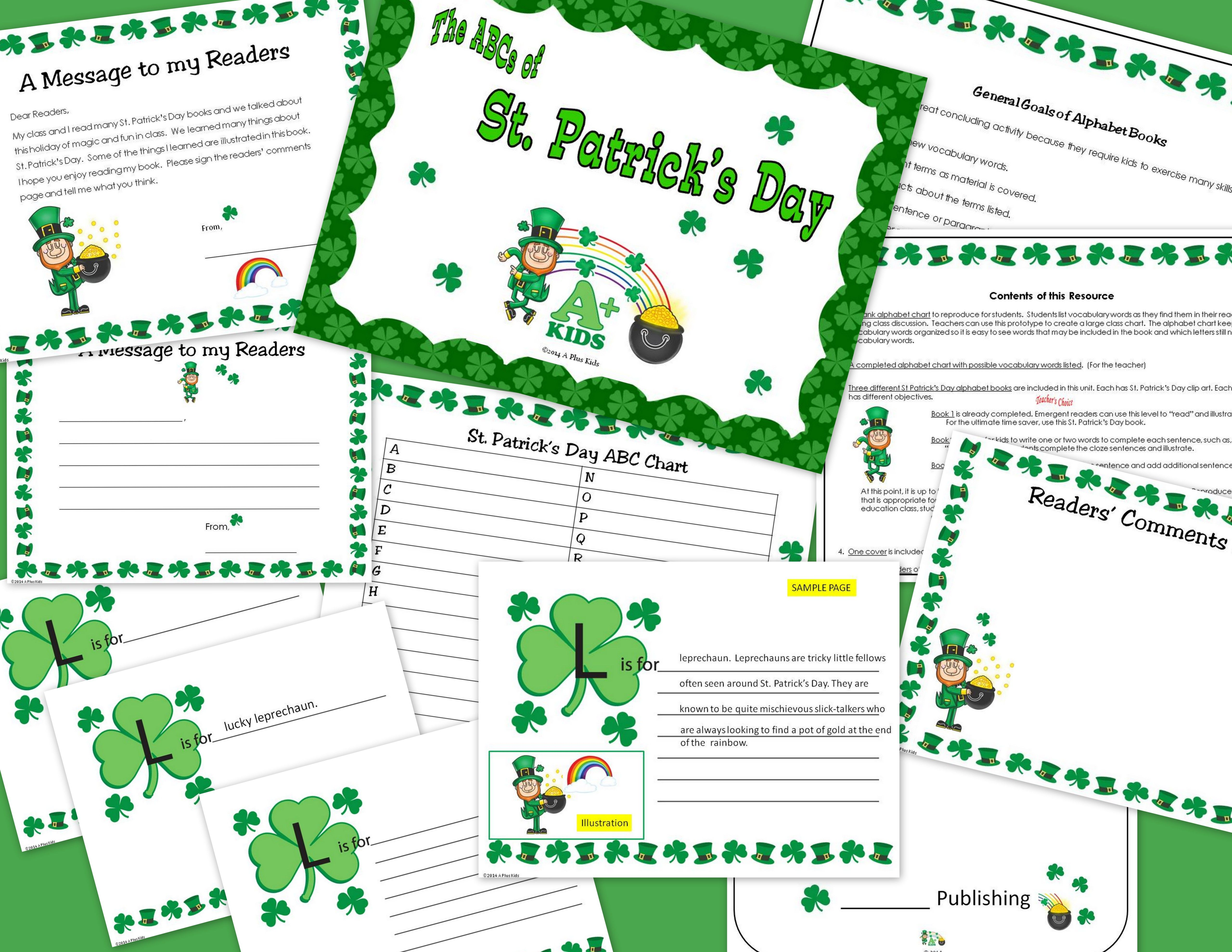 Abcs Of St Patrick S Day With Images