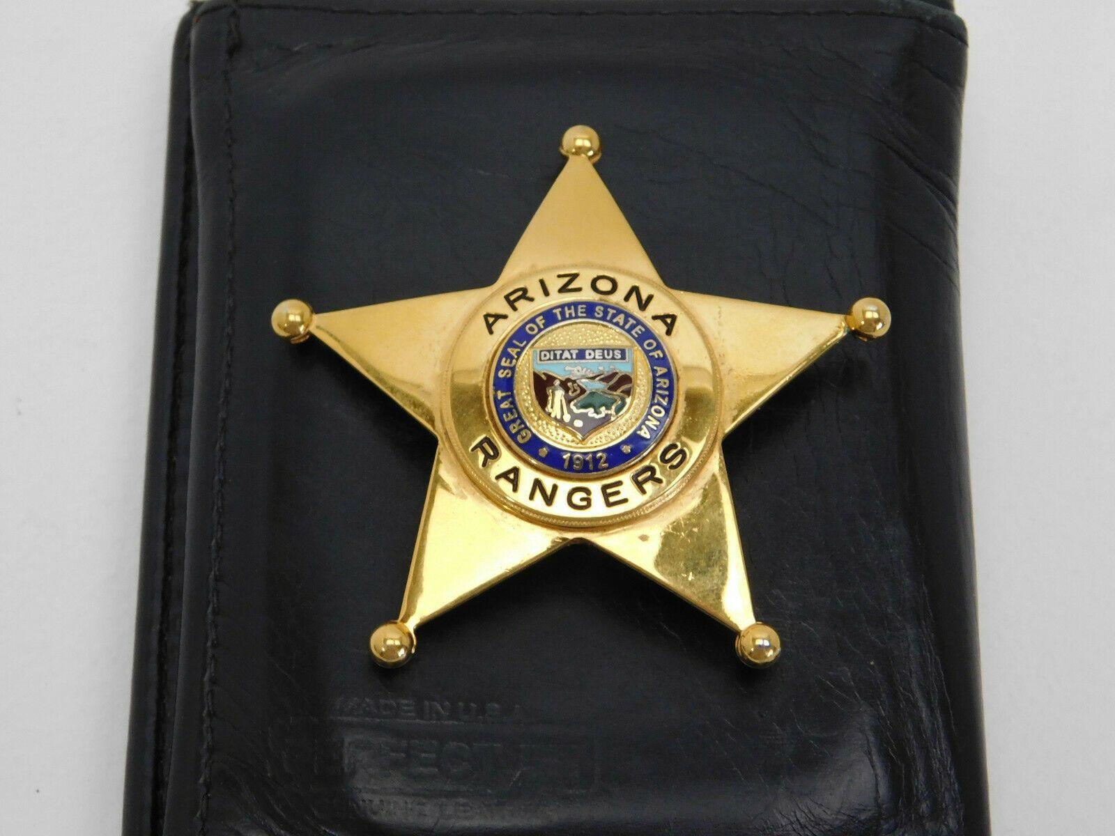 Arizona rangers smith and warren police badge badge