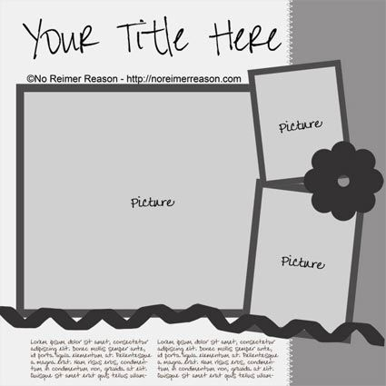 1000+ images about Digital Scrapbooking Templates on Pinterest ...